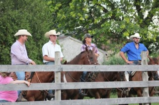 Cowboys saddled up for a ride